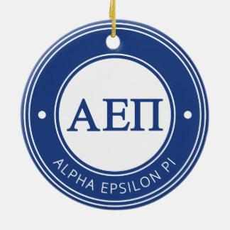 Alpha Abzeichen Epsilon-PUs | Keramik Ornament