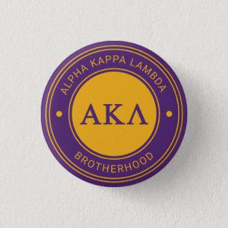 Alpha Abzeichen Kappa-Lambdas | Runder Button 2,5 Cm
