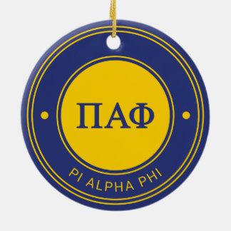 Alpha Abzeichen PUs Phi-| Keramik Ornament
