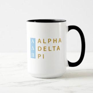 Alpha Deltapu| Staplungslogo Tasse
