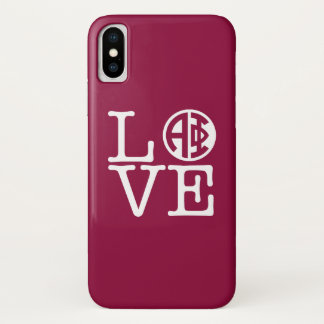 Alpha Liebe des Phi-  iPhone X Hülle