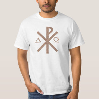 Alpha Omega aspect terre. de Chrisme T-shirt