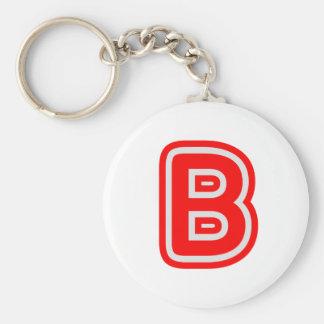 Alphabet ALPHAB BBB Porte-clef