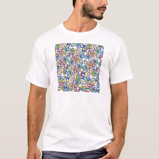 Alphabet-Suppen-Sammlung durch Devora Entwürfe T-Shirt