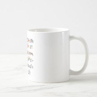 Alphabet-Tiere - superniedliches! Kaffeetasse