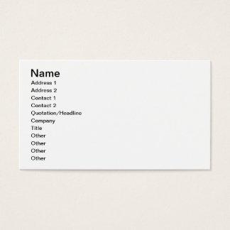 AlphagammaRho - Buchstaben vertikal Visitenkarte