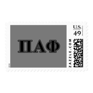 Alphaphi-gotische Schriften PUs Briefmarken