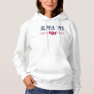 Alphaphi USA Hoodie