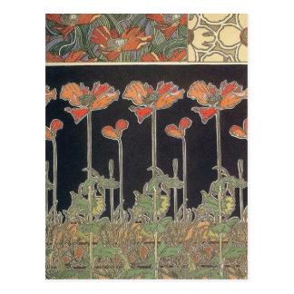 Alphonse Mucha dokumentiert Décoratifs GalleryHD Postkarte