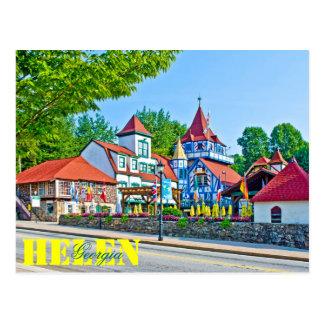 Alpine Helen, Georgia, USA Postkarten