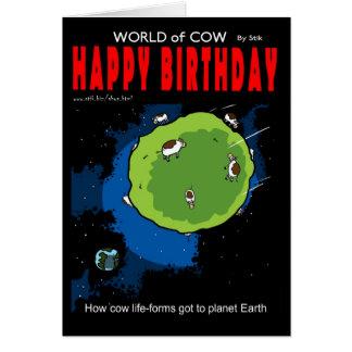 Als Kühe zur Erde fielen Karte