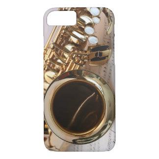 Alt-Saxophon-Musik iPhone 7 Hülle