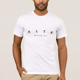 Alta Wyoming T-Shirt