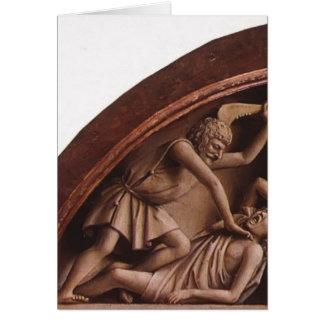 Altar Jan.s van Eyck- The Gent (Detail) Grußkarte