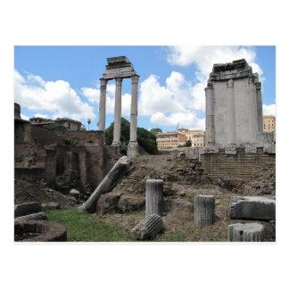 Alte Agoratempel-Säulenruinen Postkarte