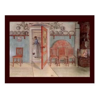 Alte Anna (in der Küche) Postkarte