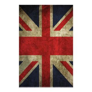 Alte Antiken-BRITISCHE britische Gewerkschafts-Jac Briefpapier