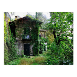Alte Bauernhaus-Postkarte Postkarte