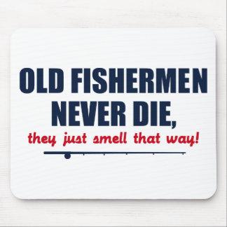 Alte Fischer die nie, sie riechen gerade so Mauspad