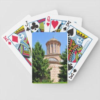 Alte Kirche in Bukarest, Rumänien Bicycle Spielkarten