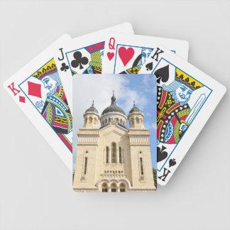 Alte Kirche in Klausenburg Napoca, Rumänien Bicycle Spielkarten