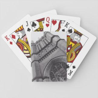 Alte Kirchen-Spielkarten Spielkarten