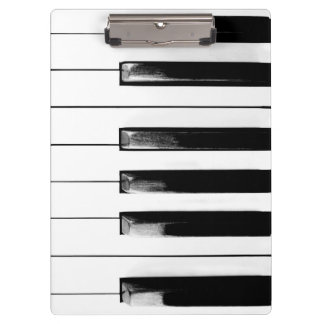 Alte Klavier-Schlüssel Klemmbrett