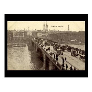 Alte London-Postkarte - London-Brücke Postkarte