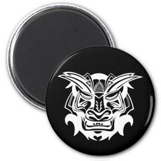 Alte Maske Runder Magnet 5,7 Cm
