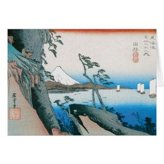 Alte Mode-Japaner-Kunst Karte