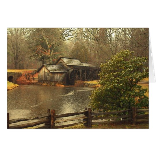 Alte Mühle Grußkarte