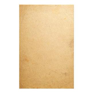 Alte Papierbeschaffenheit 1 Personalisierte Büropapiere