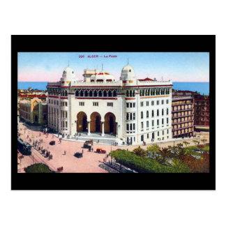 Alte Postkarte - Algier, Post