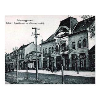 Alte Postkarte - Balassagyarmat, Ungarn