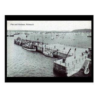 Alte Postkarte - Falmouth, Cornwall