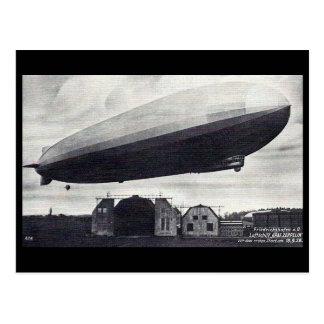 """Alte Postkarte - Luftschiff """"Graf Zeppelin """""""