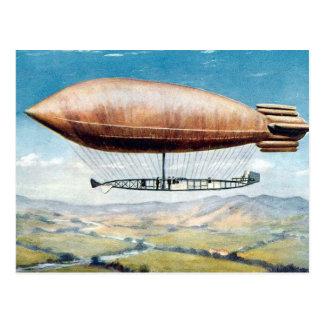 Alte Postkarte - Luftschiff - La Ville De Paris