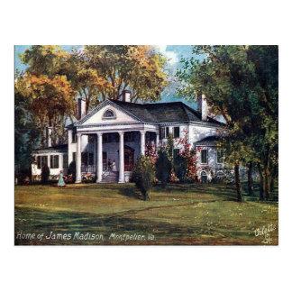 Alte Postkarte - Montpelier, Virginia, USA