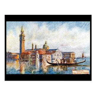 Alte Postkarte - San Giorgio Maggiore, Venedig