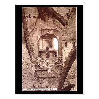 Alte Postkarte - Stratford-nach-Avon, Ruinen der