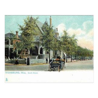 Alte Postkarte - Vicksburg, Mississippi, USA
