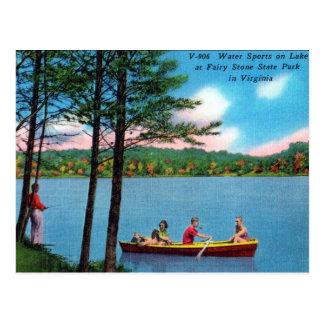 Alte Postkarte - Virginia, USA