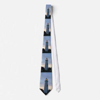 Alte Punkt-Komfort-Leuchtturm-Krawatte Individuelle Krawatten