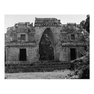 Alte Ruinen: Zugang zu Labna, Yucatan, Mexiko Postkarte