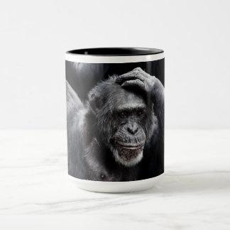 Alte Schimpanse-Tassen - wählen Sie Art, Farbe Tasse