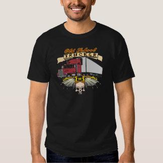 Alte Schul-LKW-Fahrer Hemden