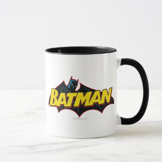 Alte Schullogo Batmans | Tasse