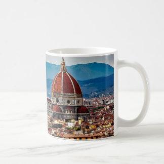 Alte Stadt Florenz, Italien-Skyline Kaffeetasse