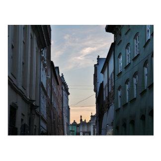 Alte Stadt Krakaus Postkarte