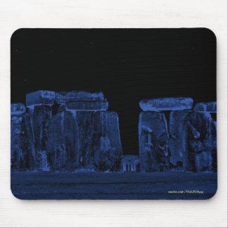 Alte Stonehenge stehende Steine nachts Mauspad